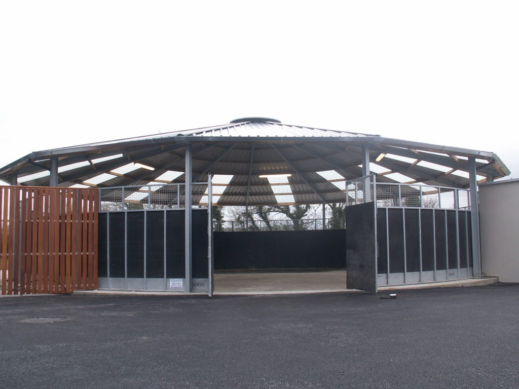 Lunging Ring Roof, Equestrian Equipment
